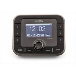 DAB+ rádio s výstupom bez reproduktorov Caliber Audio Technology HDAB10, AUX, Bluetooth, DAB+, UKW, čierna