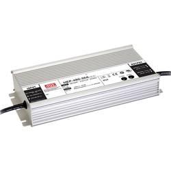 Sieťový zdroj AC/DC do DPS Mean Well HEP-480-48, 48 V/DC, 10 A, 480 W, regulovateľné výstupné napätie, otvorené káblové koncovky