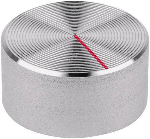 Drehknopf Aluminium (Ø x H) 20 mm x 15 mm Mentor 512.61 1 St.