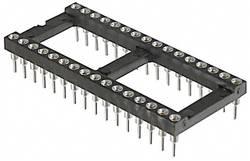 Support de circuits intégrés ASSMANN WSW AR 20 HZL-TT 7.62 mm Nombre total de pôles: 20 contacts de précision 1 pc(s)
