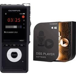 Image of Olympus DS-2600 Digitales Diktiergerät Aufzeichnungsdauer (max.) 56 h Schwarz inkl. 2 GB SD-Karte, inkl. Tasche