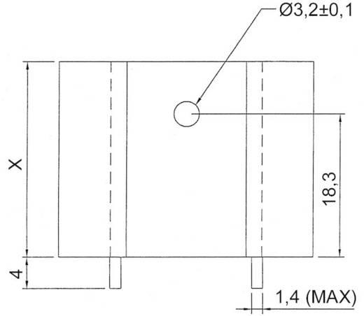 Strangkühlkörper 8 K/W (L x B x H) 37.5 x 32 x 20 mm TO-220 ASSMANN WSW V5220X