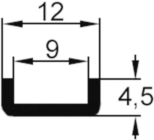 U-Kühlkörper 60 K/W (L x B x H) 25 x 12 x 4.5 mm TO-220 ASSMANN WSW V5274B-T