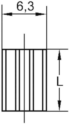 Strangkühlkörper 46 K/W (L x B x H) 19 x 6.3 x 4.8 mm DIL-14, DIL-16 ASSMANN WSW V5618B