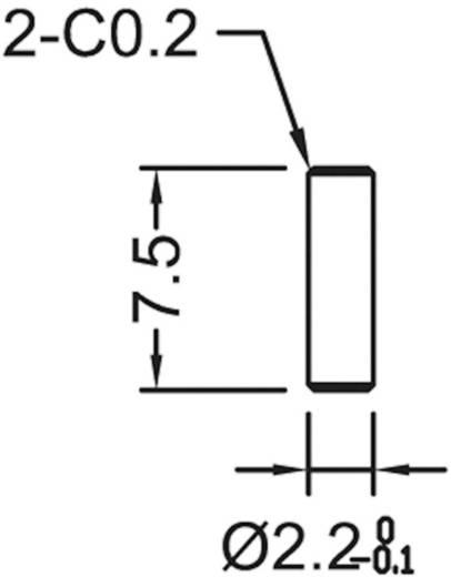 Strangkühlkörper 9 K/W (L x B x H) 50.8 x 35 x 12.7 mm TO-220, TOP-3, SOT-32 ASSMANN WSW V7477Y