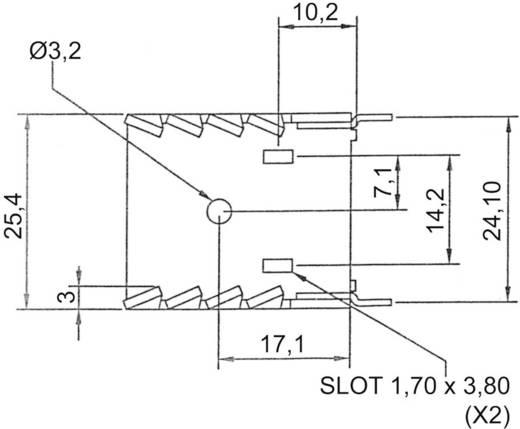 Kühlkörper 20 K/W (L x B x H) 30 x 25.4 x 12.7 mm TO-220 ASSMANN WSW V8502A