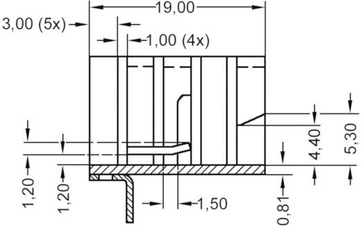 Kühlkörper 21 K/W (L x B x H) 19 x 12.8 x 12.7 mm TO-220 ASSMANN WSW V8508C