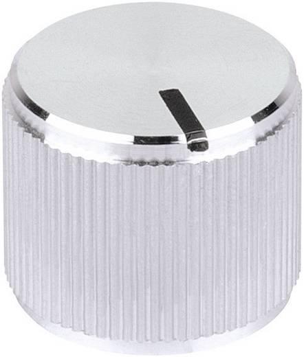 Drehknopf mit Zeiger Aluminium (Ø x H) 20 mm x 14 mm Mentor 5553.6612 1 St.