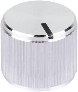 Tête de bouton rotatif Mentor 5554.6612 avec pointeur aluminium (Ø x h) 25 mm x 15 mm 1 pc(s)