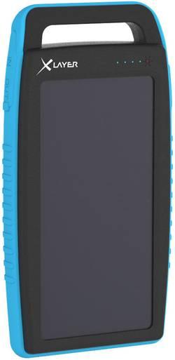 Solární nabíječka Xlayer Powerbank Plus 215774, 15000 mAh, 5 V