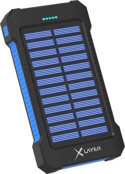 Solární nabíječka Xlayer Powerbank Plus 215869, 8000 mAh, 5 V