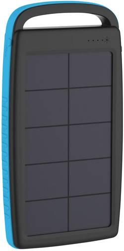 Solární nabíječka Xlayer Powerbank Plus 215775, 20000 mAh, 5 V