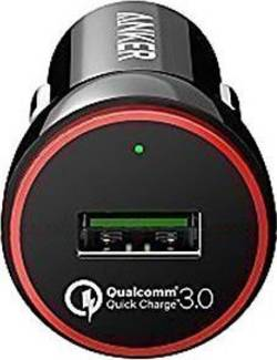 Image of Anker PowerDrive+ 1 B2210H11 USB-Ladegerät KFZ, LKW Ausgangsstrom (max.) 3000 mA 1 x USB Qualcomm Quick Charge 3.0