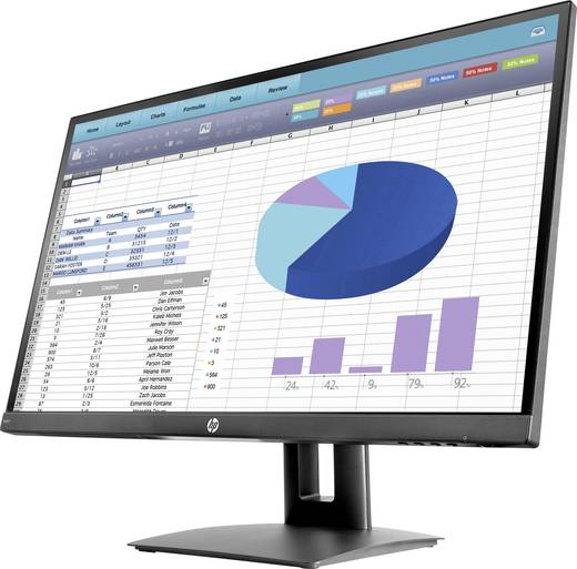 HP VH27 LED-Monitor 68.6 cm (27 Zoll) EEK A (A+ - F) 1920 x 1080 Pixel Full HD 5 ms HDMI™, DisplayPort, VGA IPS LED