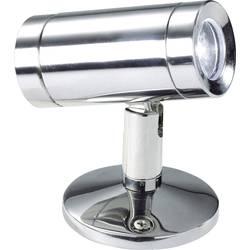 LED osvětlení na stěnu/strop IVT 370002, 3 W, 6.8 cm, denní světlo, nerezová ocel