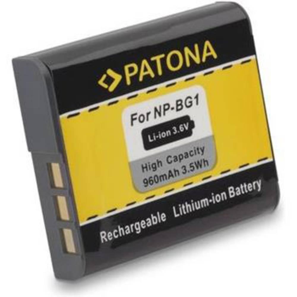 Patona FONP-BG1 Camera-accu Vervangt originele accu NP-BG1 3.6 V 960 mAh