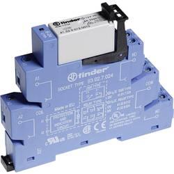 Relé - prevodník rozhrania Finder 38.52.0.024.0060, 24 V/DC, 24 V/AC, 8 A, 2 prepínacie, 1 ks