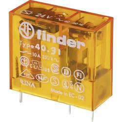 Relé do DPS Finder 40.31.8.230.0000, 230 V/AC, 10 A, 1 prepínací, 1 ks
