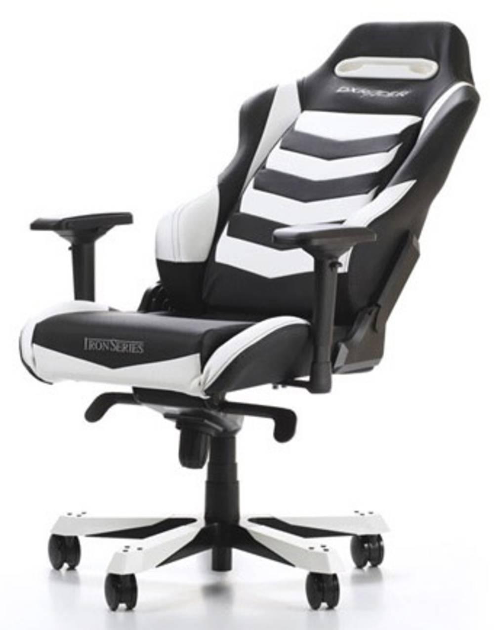 Gaming Stuhl Dxracer Iron I166 Schwarz Weiss Im Conrad Online Shop