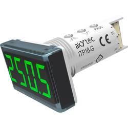 Image of akYtec ITP16-G Digitales Einbaumessgerät Temperaturanzeige ITP16 (grün)