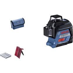 Krížová vodováha laserová Bosch Professional GLL 3-80, Dosah (max.): 30 m, Kalibrované podľa: bez certifikátu