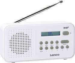 FM přenosné rádio Lenco PDR-015, FM, bílá