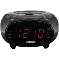 FM rádio s CD prehrávačom Lenco CR-740, AUX, CD, čierna