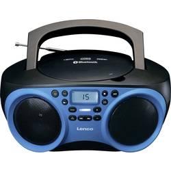 FM rádio s CD prehrávačom Lenco SCD-501, AUX, Bluetooth, CD, UKW, USB, modrá, čierna
