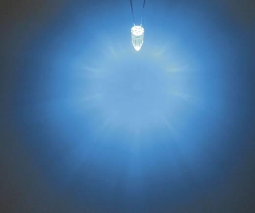 LED bedrahtet Blau Rund 5 mm 1560 mcd 60 ° 20 mA 3.4 V