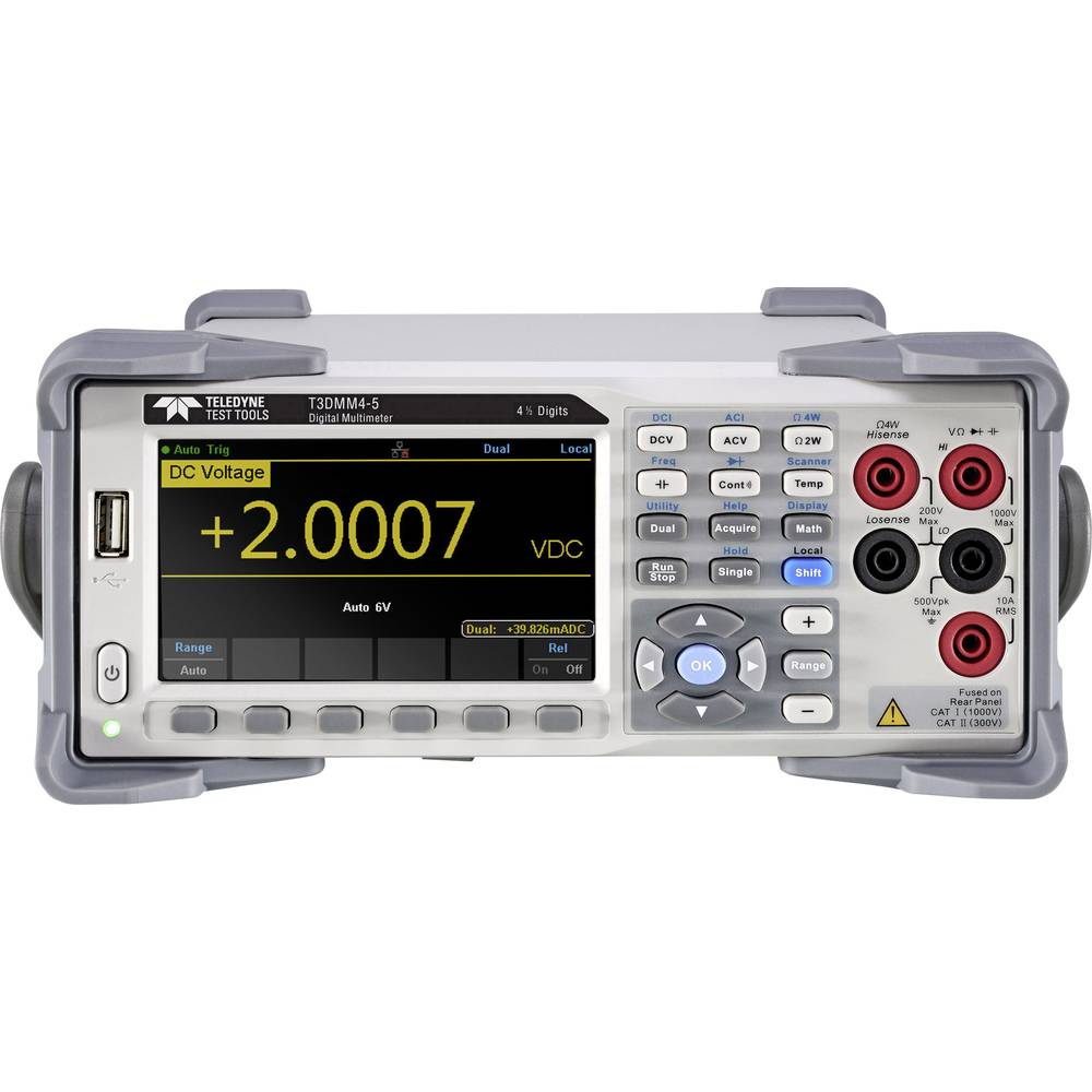 Teledyne LeCroy T3DMM4-5 Tisch-Multimeter  digital Grafik-Display  Anzeige (Counts): 60000
