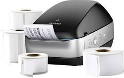 Image of DYMO Labelwriter Wireless Bundle Etiketten-Drucker Thermodirekt 600 x 300 dpi Etikettenbreite (max.): 62 mm USB, WLAN