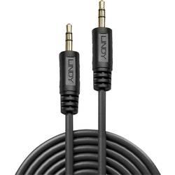 Jack audio prepojovací kábel LINDY 35648, 20.00 m, čierna