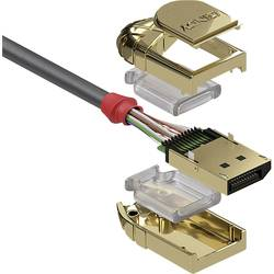 DisplayPort prepojovací kábel LINDY 36292, 2.00 m, sivá