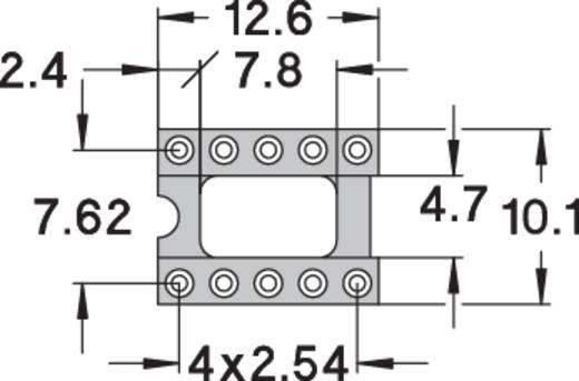 IC-Fassung Rastermaß: 7.62 mm Polzahl: 10 Preci Dip 110-83-310-41-001101 Präzisions-Kontakte 1 St.