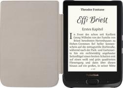 Image of PocketBook Basic Lux 2 + Shell Cover Schwarz Bundle eBook-Reader 15.2 cm (6.0 Zoll) Schwarz/Silber