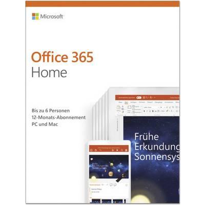 microsoft office 365 home vollversion 6 lizenzen windows. Black Bedroom Furniture Sets. Home Design Ideas