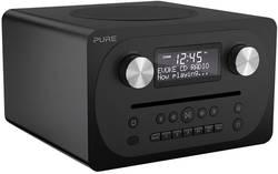 FM stolní rádio Pure Evoke C-D4, AUX, Bluetooth, CD, FM, černá