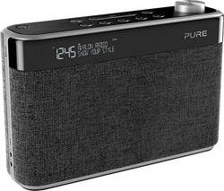 FM přenosné rádio Pure Avalon N5, AUX, Bluetooth, FM, antracitová