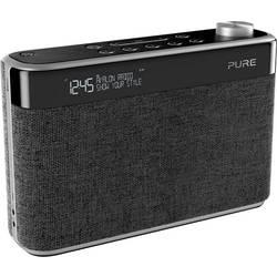FM prenosné rádio Pure Avalon N5, AUX, Bluetooth, UKW, antracitová