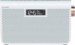 FM přenosné rádio Pure One Maxi Series 3s, AUX, FM, bílá