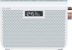FM přenosné rádio Pure One Midi Series 3s, AUX, FM, bílá