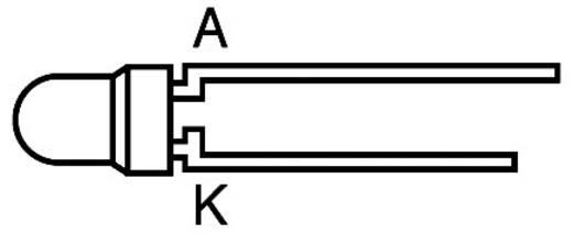 LED bedrahtet Gelb Rund 3 mm 10 mcd 50 ° 20 mA 2.1 V L934YC