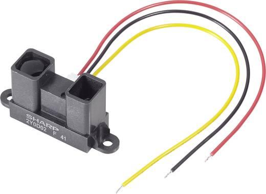 Sharp GP2Y0D02YK Distanz-Sensor 1 St. 5 V/DC Reichweite max. (im Freifeld): 150 cm