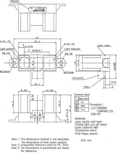 Distanz-Sensor 1 St. GP2Y0D02YK Sharp 5 V/DC Reichweite max. (im Freifeld): 150 cm