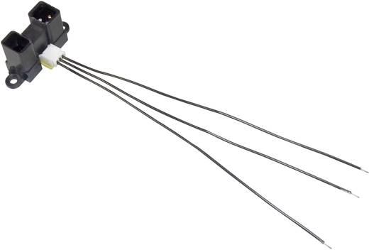 Distanz-Sensor 1 St. GP2Y0A02YK Sharp 5 V/DC Reichweite max. (im Freifeld): 150 cm