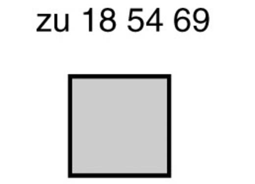LED bedrahtet Rot Quadratisch 5 x 5 mm 1 mcd 110 ° 20 mA 2.25 V SE6811