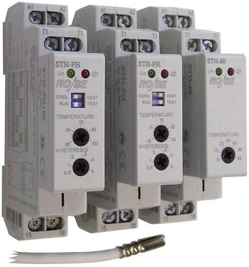 Schaltschrankheizungs-Thermostat STH-60W Rose LM 240 V/AC, 240 V/DC 1 Schließer