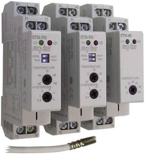 Schaltschrankheizungs-Thermostat STH-FH100 Rose LM 240 V/AC, 240 V/DC 1 Schließer