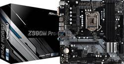 Základní deska ASRock Z390M PRO 4 Socket Intel® 1151v2 Tvarový faktor Micro-ATX Čipová sada základní desky Intel® Z390