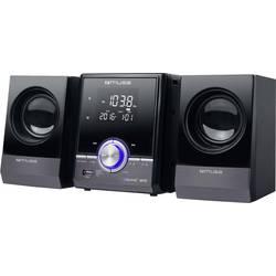 Stereo systém Muse M38BT, AUX, Bluetooth, CD, UKW, USB, čierna, strieborná